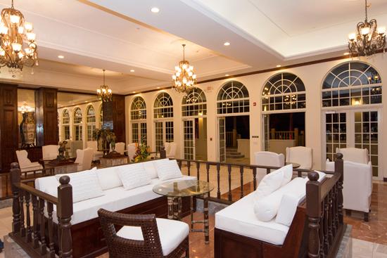 Cozy lounge zone